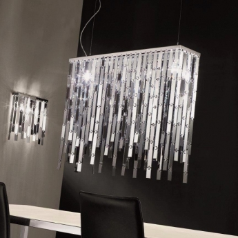glitter 96 x 20 h ngelampe pendelleuchten murano lite 1000 luxuri se kronleuchter aus. Black Bedroom Furniture Sets. Home Design Ideas